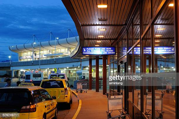 Ted Stevens Anchorage International Airport at Night
