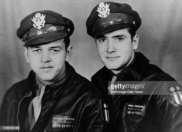 """Ted Stevens and Leroy Parramore flew cargo planes with the Flying Tigers in China. """"If I had anyone I would have trusted my life to, it would have..."""