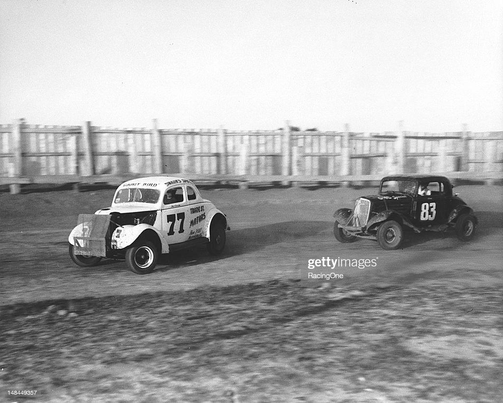 Ted Swaim - NASCAR Greensboro 1953 : News Photo