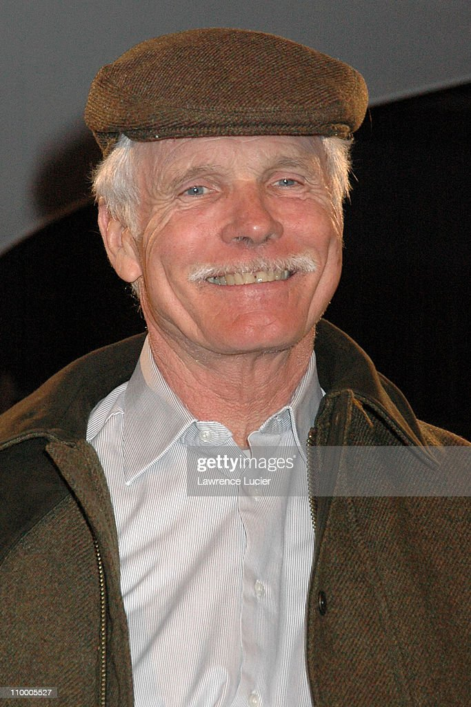 Ted Turner during Johnnie Walker Presents Dressed to Kilt - Arrivals and Runway at Copacabana in New York City, New York, United States.