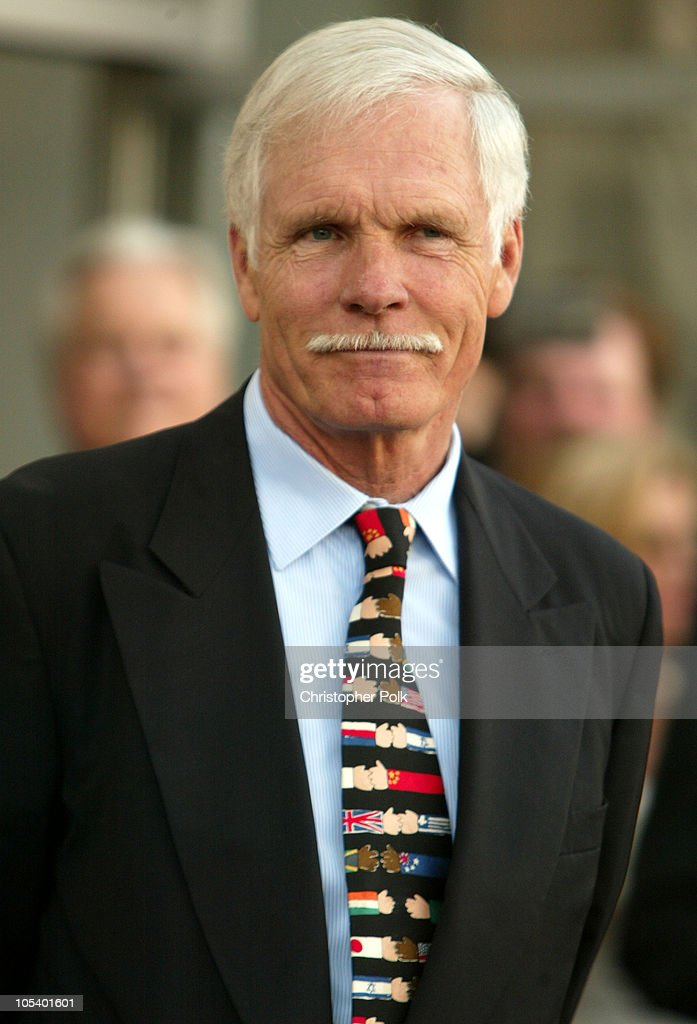 Ted Turner Receives a Star on The Hollywood Walk of Fame