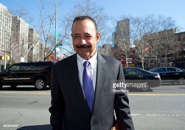 Ted Wells an attorney representing SAC Capital Advisors LP arrives at federal court in New York US on Thursday April 10 2014 SAC Capital which this...
