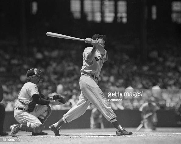 ted-williams-boston-red-sox-slugger-is-shown-during-batting-action-picture-id514968720?s=594x594