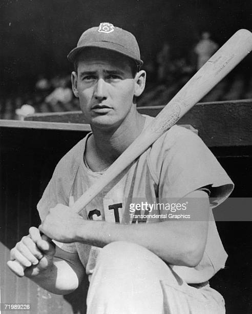 BOSTON MAY 1940 Ted Williams poses for a portrait before a game at Fenway Park in Boston in May of 1940