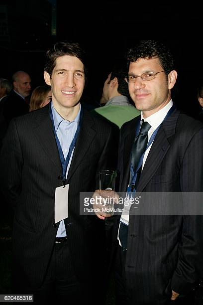 Ted Zagat and Jeremy Philips attend FOUNDERS CLUB New York BARRY DILLER welcome TIM ARMSTRONG JON MILLER at Roof Garden on June 4 2008 in New York