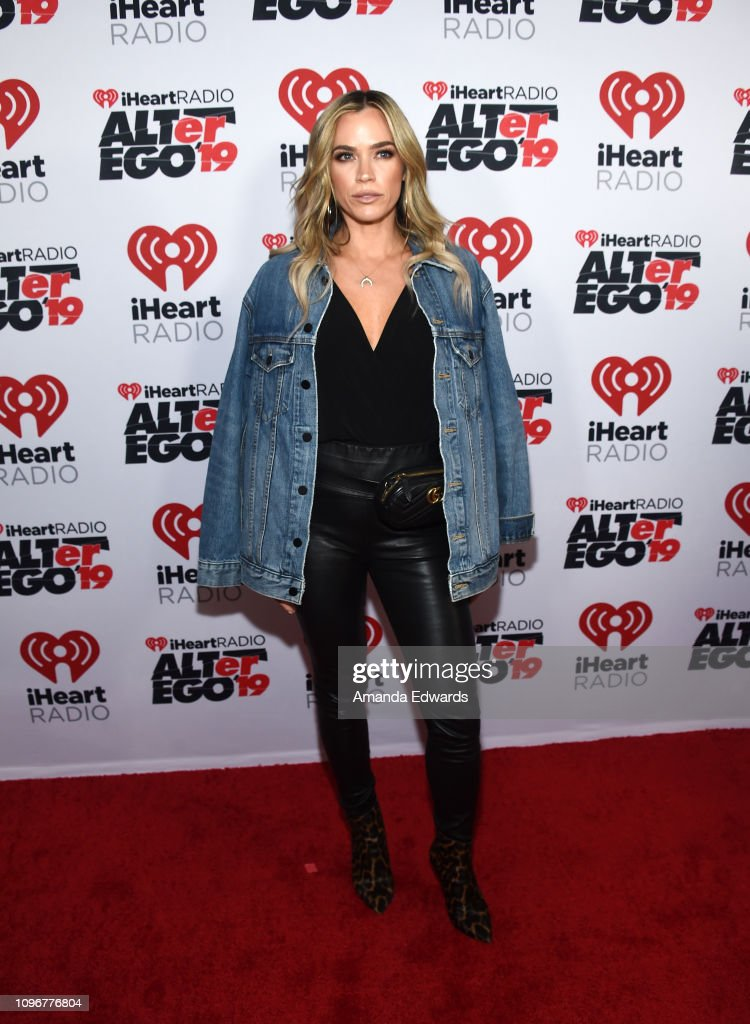 Teddi Jo Mellencamp arrives at the 2019 iHeartRadio ALTer
