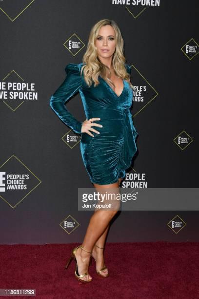 Teddi Jo Mellencamp attends the 2019 E People's Choice Awards at Barker Hangar on November 10 2019 in Santa Monica California