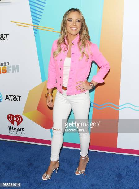 Teddi Mellencamp Arroyave attends the iHeartRadio's KIIS FM Wango Tango By ATT held at Banc of California Stadium on June 2 2018 in Los Angeles...