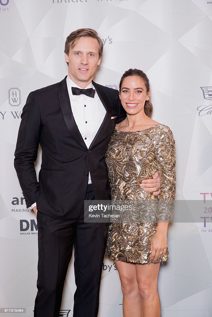 Teddy and Melissa Sears attend TWO x TWO For AIDS and Art 2016 on October 22, 2016 in Dallas, Texas.
