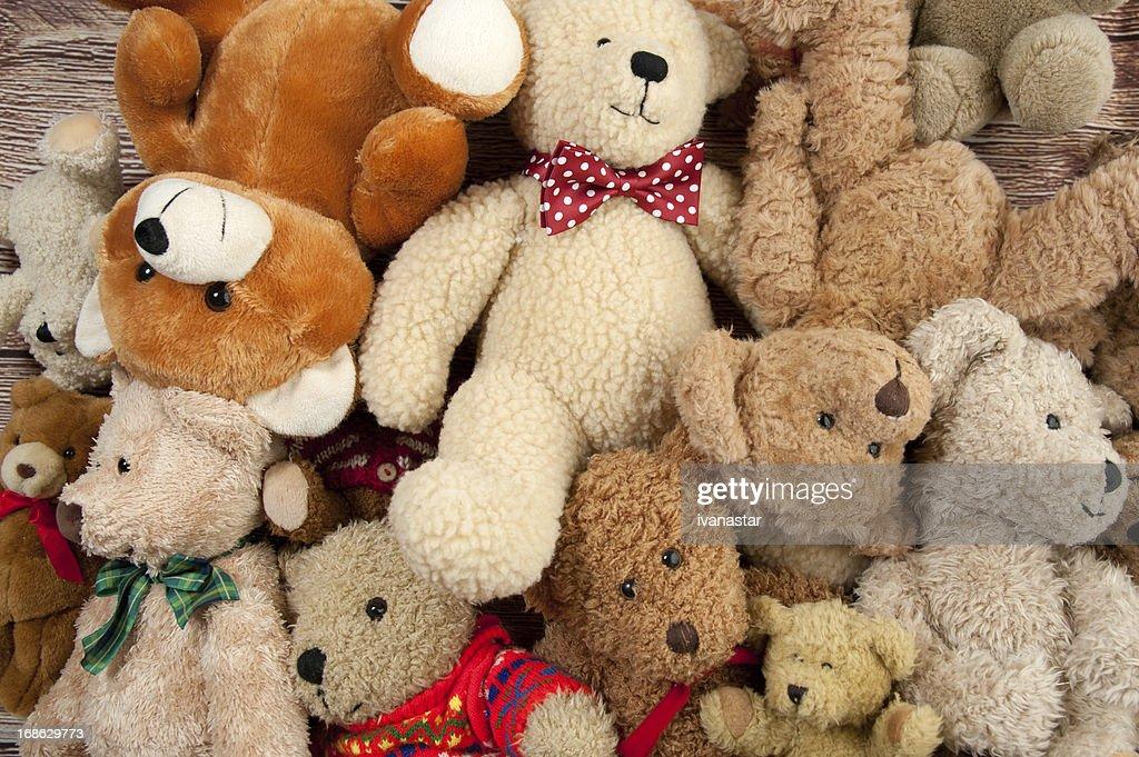 Teddy Bear Bunch : Stock Photo