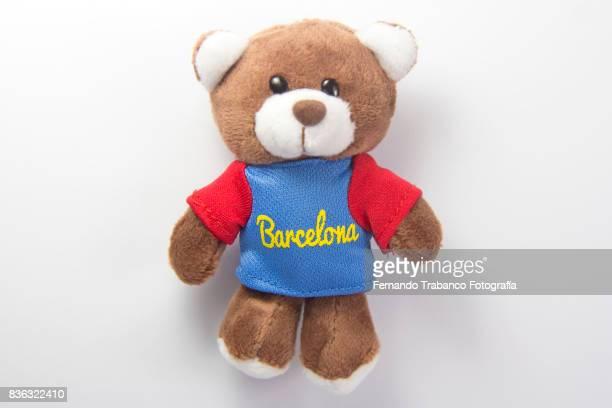 Teddy bear in Barcelona