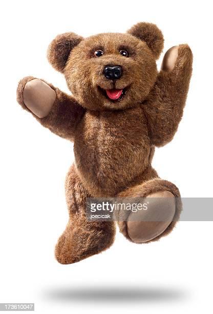 Teddy Bear Leaping For Joy
