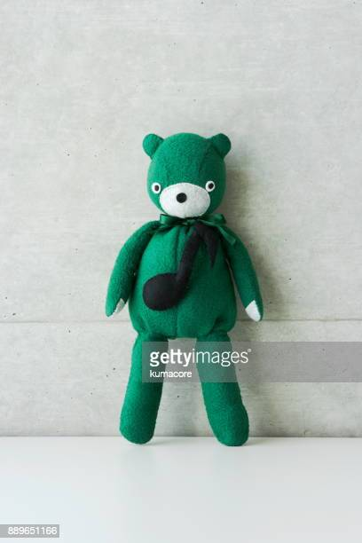 Teddy bear with  musical note