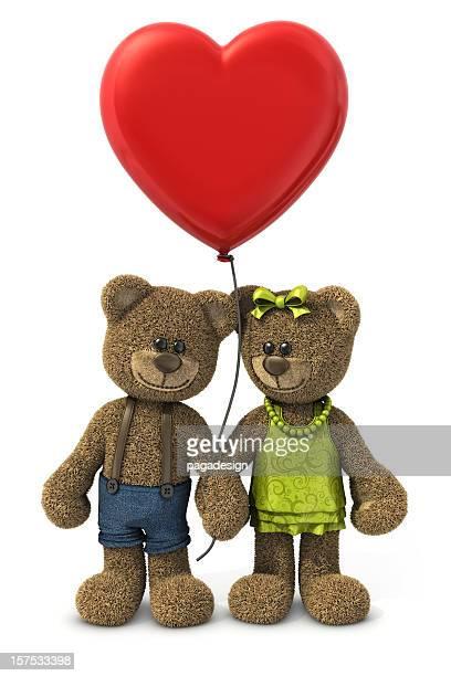 Teddybären lieben