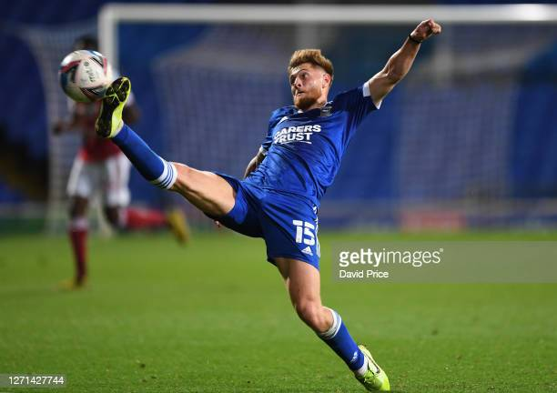 Teddy Bishop of Ipswich during the Leasingcom Cup match between Ipswich Town and Arsenal U21 at Portman Road on September 08 2020 in Ipswich England