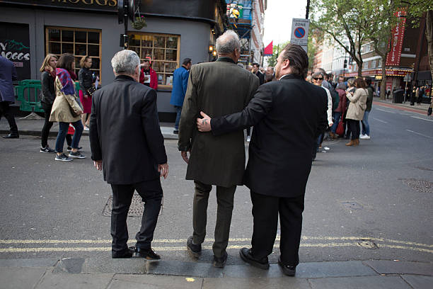 Edwardian Teddy Boy Suits Tailors In London: Teddy Boys Gathering In London Photos And Images