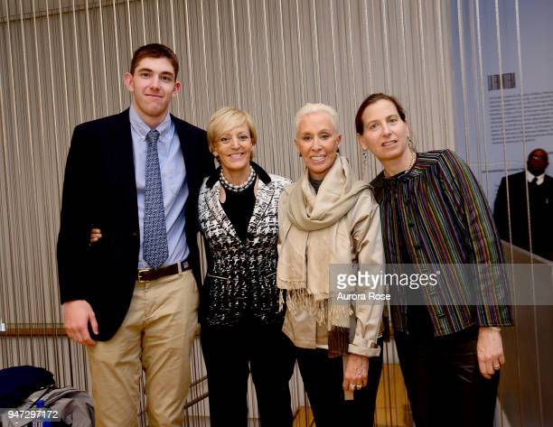 Teddy Brown Lynn Conley Robin Brown and Carolee Lee Attend the LOOT MAD About Jewelry at The Museum of Arts and Design on April 16 2018 in New York...