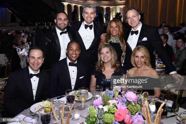Teddy Davis Noah Gray Don Lemon Jim Acosta Brianna Keilar Suzanne Malveaux Jake Tapper and Dana Bash of CNN attend Full Frontal With Samantha Bee's...