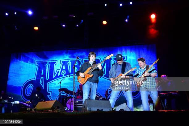 Teddy Gentry of the band Alabama performs on stage during the Citadel Country Spirit USA music event on August 24 2018 in Glenmoore Pennsylvania