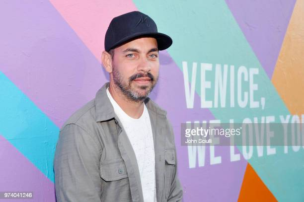 Teddy Kelly attends the Aldo LA Nights 2018 at The Rose Room on June 13 2018 in Venice California