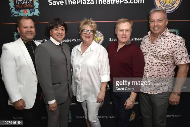 Teddy Lewis Carlos Cardoza Melissa Lundgren Scott Jones and Patrick Basile attend the House Of Cardin Special Screening At Palm Springs Modernism...