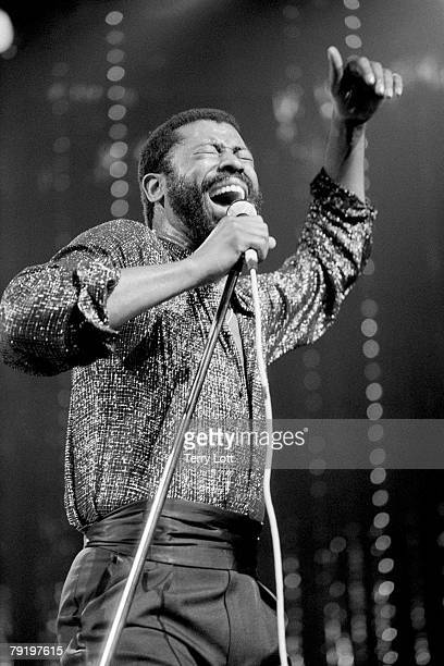 Teddy Pendergrass Performing Live At The Victoria Apollo London
