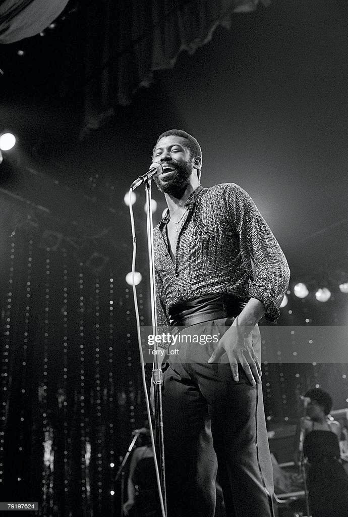 Teddy Pendergrass Performing Live At The Victoria Apollo, London