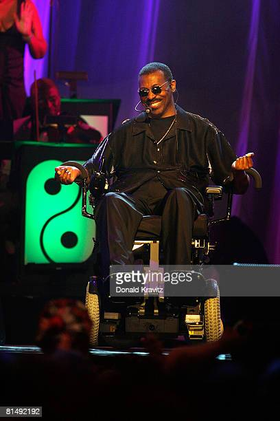 Teddy Pendergrass performs at the 'Love Train The Sound Of Philadelphia' concert on June 7 2008 at the Borgata Hotel Casino in Atlantic City New...