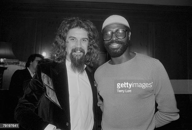 Teddy Pendergrass With Comedian Billy Connolly At A Reception London