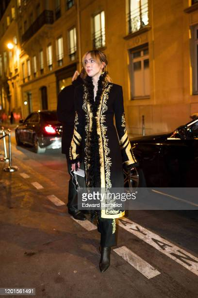 Teddy Quinlivan arrives at Sidaction Gala Dinner 2020 At Pavillon Cambon on January 23 2020 in Paris France