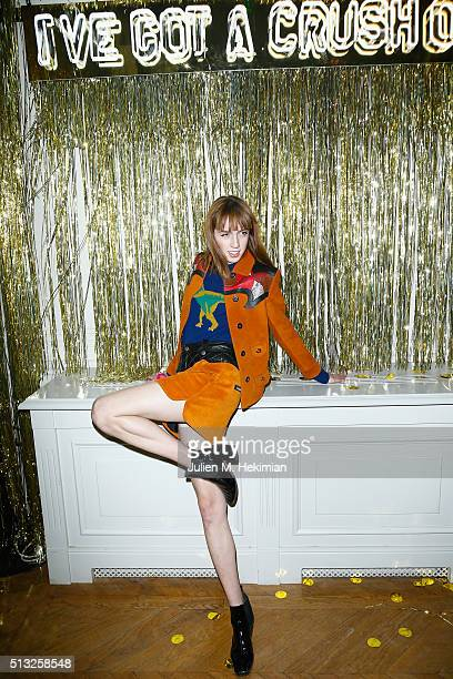 Teddy Quinlivan attends Prom 2016 Party hosted by Coach for the Paris Flagship opening as part of the Paris Fashion Week Womenswear Fall/Winter...
