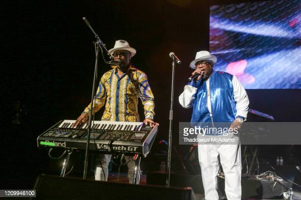 Teddy Riley and Dave Holister perform as part of the RnB Rewind concert at Bridgestone Arena on February 28 2020 in Nashville Tennessee