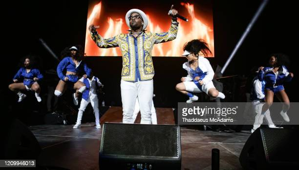 Teddy Riley performs as part of the RnB Rewind concert at Bridgestone Arena on February 28 2020 in Nashville Tennessee
