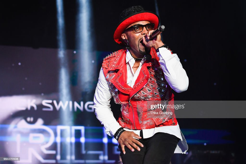 Teddy Riley performs onstage during the 2018 Essence Festival at the Mercedes-Benz Superdome on July 8, 2018 in New Orleans, Louisiana.