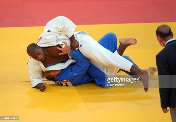 Teddy RINER / Faicel JABALLAH Judo 100kg Hommes Jeux Olympiques Londres 2012 Photo Dave Winter / Icon Sport