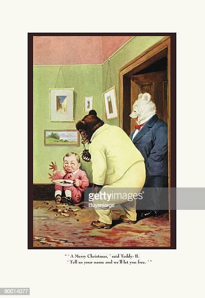 Teddy Roosevelt's Bears Merry Christmas