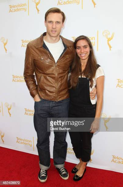 Teddy Sears and Melissa Sears at The Television Academy's Costume Design and Supervision Peer Group Executive Committee hosts costume design Emmy...