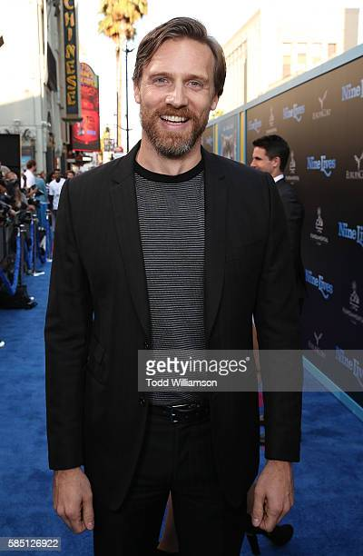 Teddy Sears attends the premiere Of EuropaCorp's 'Nine Lives' at TCL Chinese Theatre on August 1 2016 in Hollywood California