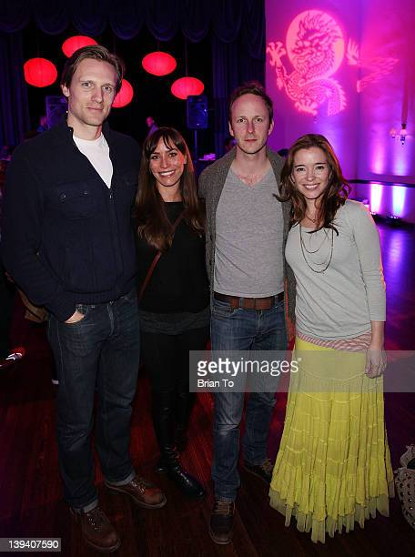 Teddy Sears Melissa Skoro Christopher Redman and Marguerite Moreau attend 2nd Annual Hollywood Rush Benefiting the Baby Dragon Fund Inside at The...