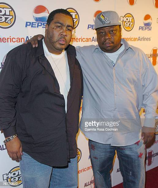 Teddy Ted and Special K attend the Rebirth of Hip Hop hosted by Sean Diddy' Combs and Russell Simmons at Nikki Midtown on September 12th 2007 in New...