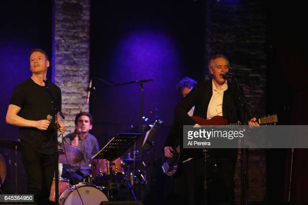 Teddy Thompson and Wesley Stace perform as part of Wesley Stace's Cabinet of Wonders at City Winery on February 24 2017 in New York City