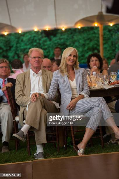 Teddy Walton Ford Ed Begely Jr Ed Begley JrRachelle Carson and Sussie Essman attend Cheryl Hines and Robert F Kennedy Jr Wedding at a private home on...