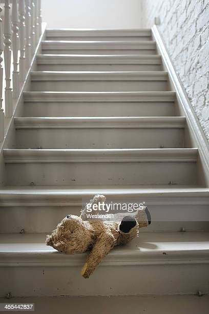 Teddybear on steps