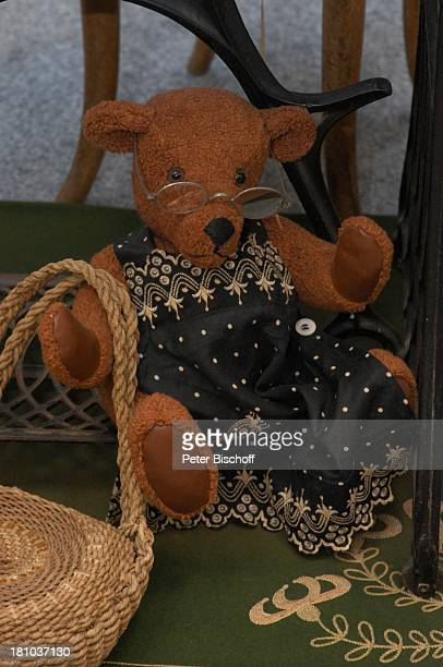 Teddybären-Ausstellung, Potsdam, 8.11.2003,;Teddy, Teddybär, Bär, Baer, Bären, Baeren, historisch Geburtstag, Potsdamer Bahnhofspassagen, Plüsch,...
