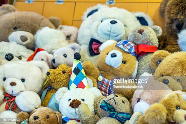 teddys - toy animal stock photos and pictures