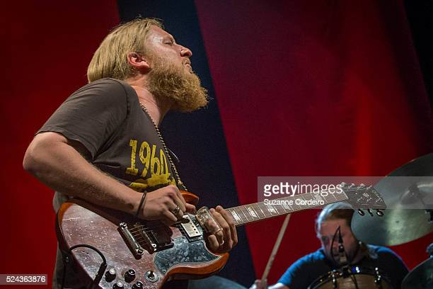 Tedeschi Trucks Band performed at the Austin360 Amphitheater in Austin, Texas on July 12, 2015.