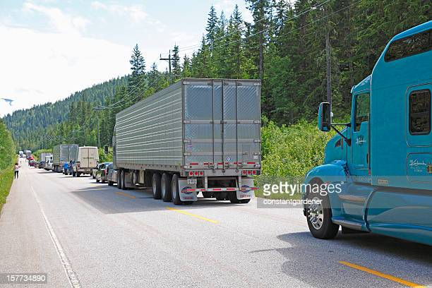 Tedious Summer Traffic Tie Up