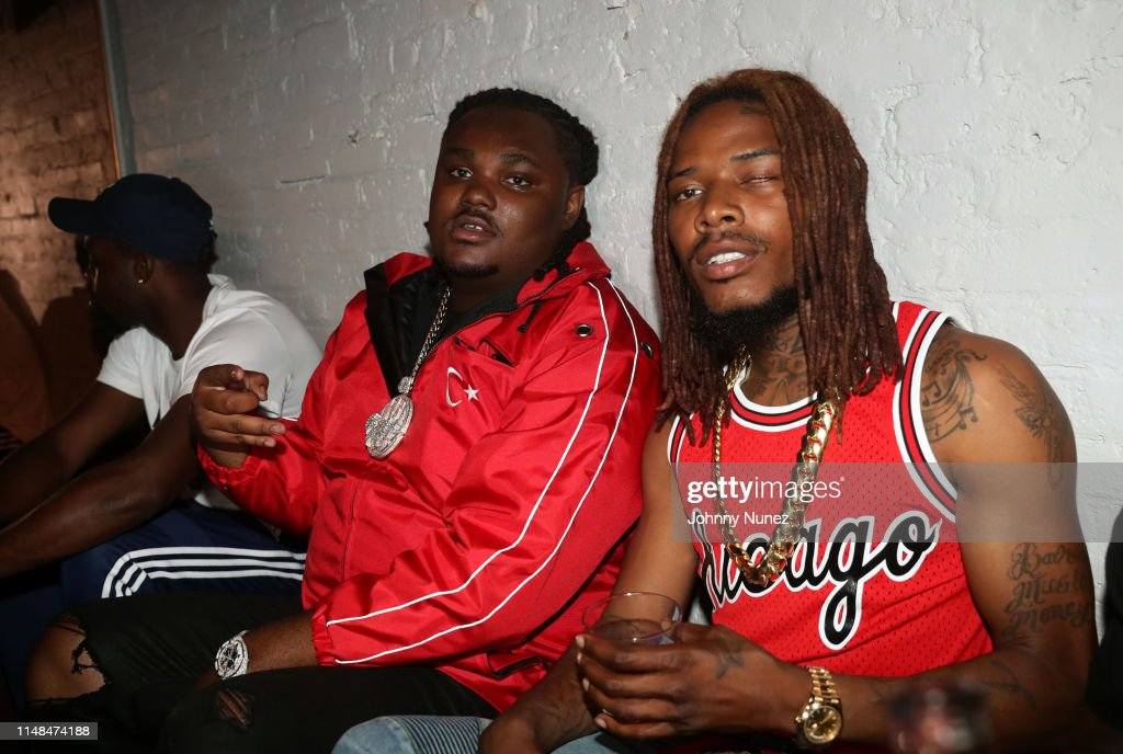 Tee Grizzley and Fetty Wap attend the Tee Grizzley