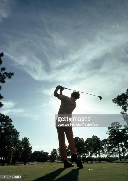 Teeing off at Innisbrook Golf Club in Palm Harbor, Florida, circa 1972.