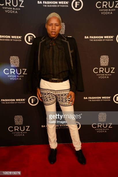 Teekay Goldfishduring the Official SA Fashion Week Opening Party in association with Cruz Vodka at The Mark on October 22 2018 in Sandton South...